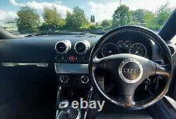 2001 Audi TT Quattro 4WD. 1.8 Turbo 180bhp. Aug 22 MOT (no advisories)
