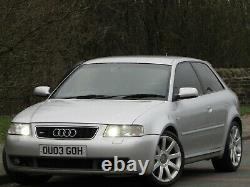 2003 Audi S3 1.8t Quattro 3dr Stage 1 Remap 250 Bhp++modified++12 Months Mot