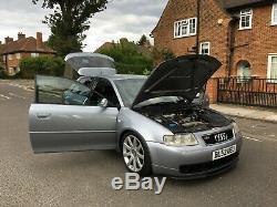 2003 Audi S3 Quattro Rear AVUS SILVER Moddified 275BHP Ramair Induction Kit