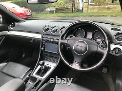 +++2004 Audi S4 4.2 V8 Quattro Cabriolet 6 Speed Manual 344 Bhp 4x4+++