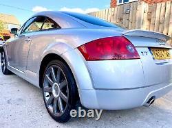 2004 Audi Tt 180 Bhp Quattro Metallic Silver 10 Months Mot