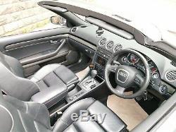 2006 06 Audi S4 Quattro 4.2 V8 (340 Bhp) Cabriolet Tip-tronic Auto
