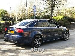 2006 Audi Rs4 4.2 V8 Quattro 420 Bhp Manual Saloon Mugello Blue Px