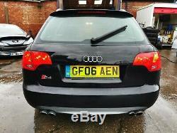 2006 Audi S4 Quattro 4.2 Petrol 344 BHP MOT Oct 2020 Black