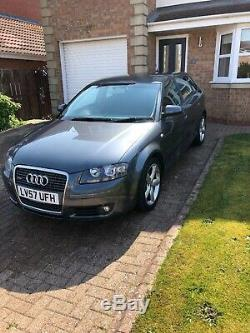 2007/57 Audi A3 tdi Quattro 170 bhp sport model with s line features