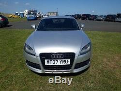 2007 Audi Tt 3.2 Quattro 250bhp Manual 6 Sp Coupe In Silver, Red Leather H/seats