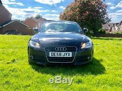 2008 58 Audi TT 2.0 tdi QUATTRO black 170bhp 134k FSH long MOT! PX