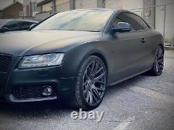 2008 Audi S5 4.2L V8T QUATTRO 2DR AUTO 354BHP Matt Black Wrap+Full Audi SH
