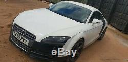 2009 Audi TT 2.0 TDi Quattro 170bhp Unrecorded Salvage Damaged Drive Away 98k