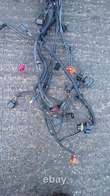 2011 Audi A5 Sport Quattro 3.0tdi V6 Cdu 245bhp Dsg Automatic Engine Wiring Loom