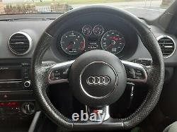 2012 Audi A3 2.0 TDI S-Line Quattro Black Edition 170 bhp in Misano Red