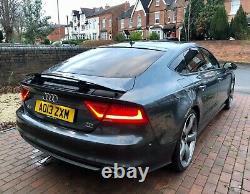 2013 Audi A7 3.0 BiTDi Black Edition Sportback Tiptronic quattro 313bhp 5dr