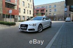 2014 Audi A5 S Line Quattro White 2.0 Diesel 180 Bhp, Low mileage