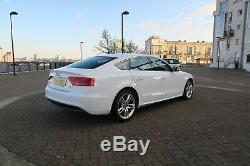 2014 Audi A5 S Line Quattro White 2.0 Diesel 180 Bhp, Low mileage, not RS5
