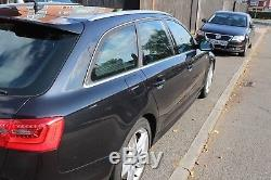 2014 Audi A6 C7 3.0 AVANT TDI QUATTRO (245bhp) S LINE S TRONIC BLACK 68K ONLY