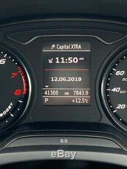 2015 Audi A3 RS3 Sportback quattro Black 5Dr 2.5TFSi 420bhp APR Stage 1 Tuned