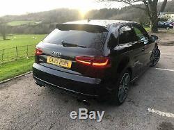 2015 Audi S3 Quattro 3d 300 Bhp Black Edition Auto Dsg S Tronic Not Rs3 S1 S5