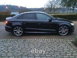 2017 Audi S3 Black Edition 310 Bhp Quattro Saloon Semi Auto