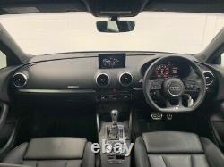 2018 Audi A3 2.0 S3 SPORTBACK TFSI QUATTRO BLACK EDITION 5d 306 BHP Semi Auto Ha