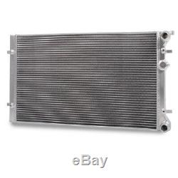 40mm HIGH FLOW ALLOY RADIATOR RAD FOR AUDI TT MK1 8N 225 BHP 1.8T QUATTRO 98-06