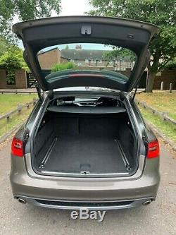 AUDI A6 AVANT 3.0BiTDI V6 QUATTRO TRIPTRONIC S LINE 320 BHP 2014 HUGE SPEC