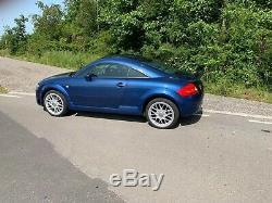 AUDI TT 3.2 Coupe Quattro Automatic DSG 250BHP metallic blue
