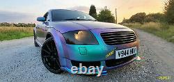 AUDI TT MK1 Quattro (180BHP) COLOUR CHANGING PAINT! MODIFIED WITH EXTRAS LOOK