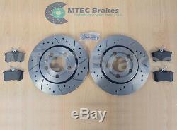 AUDI TT Quattro 225 Bhp Drilled Brake Discs & Pads