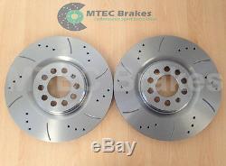 AUDI TT Quattro 225 Bhp Drilled Grooved Brake Discs x 4