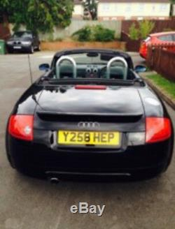 AUdi Quattro TT Black ROADSTER 1.8 180BHP Convertible 122,000 Miles 6 Speed