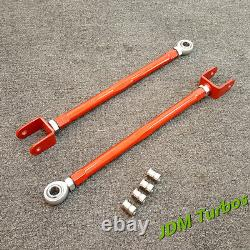 Adjustable Front Rear Camber Arms Kit Red for Audi TT Mk1 1.8T Quattro 225BHP