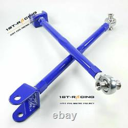 Adjustable Rear Camber Arms Kit For Audi TT Mk1 1.8T S3 Quattro 225BHP 4WD BLUE
