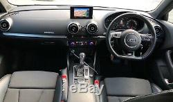 Audi A3 2.0 TDI S line Sportback S Tronic Quattro 5dr 184bhp RARE FIND