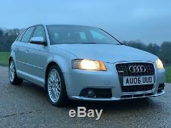 Audi A3 2.0T Quattro TFSI S line Special Edition Sportback DSG 5dr 2006 200BHP