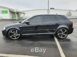 Audi A3 S Line 2.0TDI Quattro 2008 230BHP on coilovers 5 door