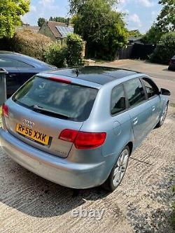 Audi A3 TDI Quattro sport 170 bhp panoramic glass roof leather 4wd 4x4