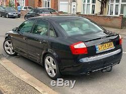 Audi A4 1.8 T S line 4dr Quattro (190BHP)