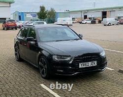 Audi A4 Avant Quattro 2lt TDI black edition S line 177bhp 62 plate Manual