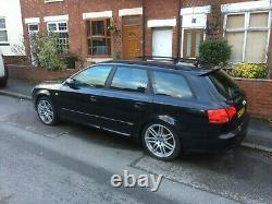 Audi A4 Avant TFSI Quattro Special Edition 220 BHP S-Line Black RARE