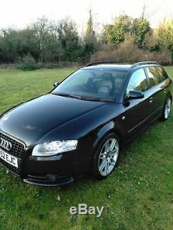 Audi A4 Estate Black S-Line Se Quattro 2.0 TDI 170bhp Diesel