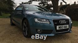 Audi A5 3.0 V6 TDi Quattro, 12 months MOT, FSH, 300bhp 600nm/442lb torque, Superb