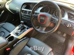 Audi A5 Sportback S Line 2.0 Tdi Quattro Misano Red Hi Spec Stunning Car 210 Bhp