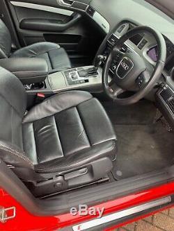 Audi A6 Avant Quattro Full S-Line 3.0 TDI 233BHP in Misano Red
