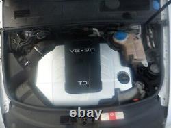 Audi A6 C6 04-11 Quattro 3.0 V6 TDI Diesel 224BHP BMK Engine 68K WARRANTY