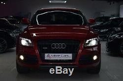Audi Q5 2.0 TDI S line S Tronic quattro 5dr RARE Orange HUGE SPEC 170BHP