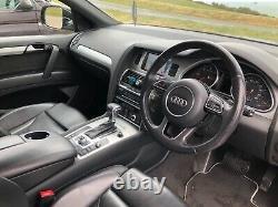 Audi Q7 Quattro, tiptronic, Aline. 180kw 245 BHP, 3.0 ltr