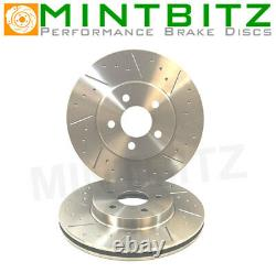 Audi S3 2.0 Quattro 295/305bhp 14- Dimpled Grooved Front Brake Discs