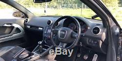 Audi S3 8p Quattro 2007 Grey Sunroof Hybrid Turbo Stage 2+ Modified 400+bhp