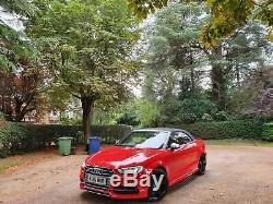 Audi S3 Convertible 2016 2.0 TFSI Cabriolet S Tronic quattro 2dr (Nav) 350bhp