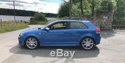 Audi S3 Quattro 2008 8p Sprint Blue 350bhp Bargain Not Gtd/gti/cupra/335d/tfsi